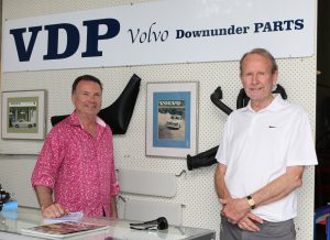 24/9/17 Ashley & Gerry at launch of Volvo Downunder Parts