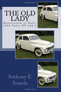 Volvo PV444L - beautiful restoration - details in a book